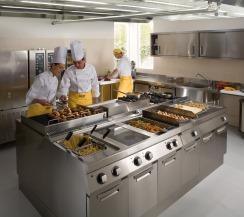 Consejos para el buen mantenimiento de una cocina for Material para cocinas industriales